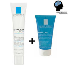 La Roche Posay Effaclar Duo [+] 40ml + Foaming Gel 50ml; Anti-Acne Treatment