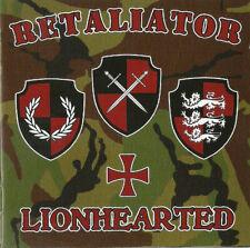 RETALIATOR-LIONHEARTED CD Oi!Oi!Oi! Skin Way of Life