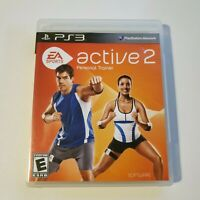 EA Sports Active 2 (Sony PlayStation 3, 2010) PS3 Game Only Complete With Manual