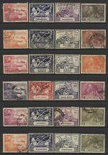 British Commonwealth 1949 UPU 6 Sets Used