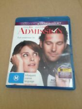 ADMISSION, LET SOMEONE IN BLUE-RAY DVD. + DIGITAL ULTRAVIOLET