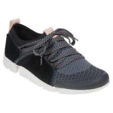Clarks Ladies Trainers Shoes TRI AMELIA Black Combi UK 4.5 / EU 37.5