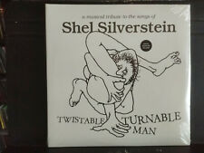 Shel Silverstein Various Artists Musical Tribute Twistable Turnable Man 2LP NEW