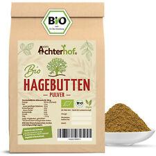 Bio Hagebuttenpulver 1 kg ganze Hagebutte vermahlen   100% Bio Hagebutten Pulver