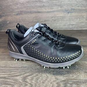 ECCO Women's Golf Biom G2 Black Silver Sz 39 US 8-8.5