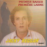 45TRS VINYL 7''/ FRENCH SP JACKY REGGAN / PREMIER BAISER PREMIERE LARME
