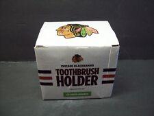 Unique 2015 CHICAGO BLACKHAWKS Hockey Goal Toothbrush Holder Ltd.Ed. SGA MIB