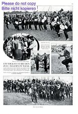 Folk festival of Zulu Natal 1928 1 page photo images KwaZulu-Natal Afrika  +