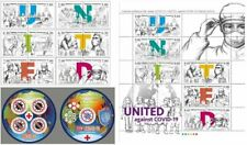 Stamps of Tajikistan 2020. - STOP Pandemic .. Joint release of many countries of