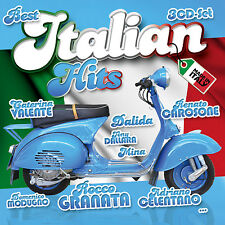 CD Best Italian Hits 50 Hits from the 50 S & 60 S de Various Artists 3cds