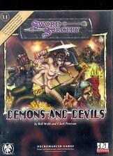 balders Gate 16 LEGIONE SPINATO DEVIL Axe e Fiamma Dungeons /& Dragons in miniatura