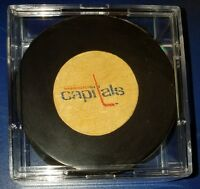 Washington capitals vintage viceroy NHL hockey puck rubber crest made in canada