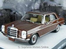 MERCEDES BENZ 200D JAMES BOND OCTOPUSSY 1/43 SIZE BROWN COLOUR EXAMPLE T3412Z(=)