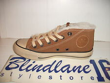 SCARPE CONVERSE AS HI ALTE MID SHEARLING MARRONI 129011C EUR N 38 UK 5.5