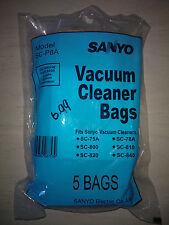 Genuine Sanyo Vacuum Cleaner Bags - SC-P8A