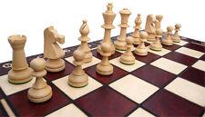Chess Noble Chess of Wood 49 x 49 cm KH 90 mm Handicraft