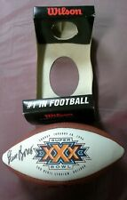 1996 Super Bowl XXX Signed Football, Cowboys vs. Steelers