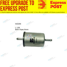 Wesfil Fuel Filter WZ200 fits Holden Calibra 2.0 i 16V (YE),2.0 i Turbo AWD (