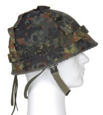 AB Stahlhelmüberzug Flecktarn für Stahlhelm Einsatzhelm Schutzhelm Helmbezug
