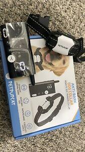 Anti Dog Bark Collar Small Medium Large Static Shock Beep Vibration Rechargeable
