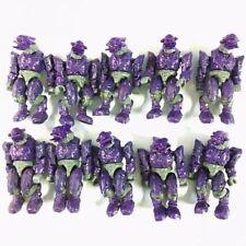 Lot10PCS Mega Block Battle Unit Covenant Purple Combat Elite mini Figure toy