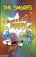 THE SMURFS - I'VE GOT A LITTLE PUPPY 1996 UK CASSINGLE CARD SLEEVE SLIP-CASE