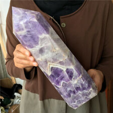 3540g Natural Dream Amethyst Quartz Crystal crystal wand Healing #5