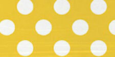 Yellow Polka Dot Birthday 8 Large Paper Plates Table Girls Baby Shower Summer