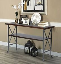 Retro Vintage Hallway Console Table Entryway Hall Decor Cottage Country Style