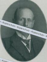 Julius von Henle - Ritter - Regierungspräsident Unterfranken - um 1915 Y   34-13