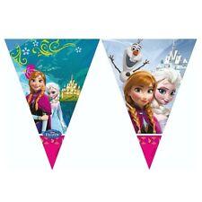 Banderitas triangulares fiesta Frozen Disney