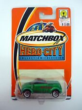 MATCHBOX OPEL FROGSTER Hero-City Collection Die-Cast MOC COMPLETE 2002