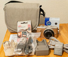 [Good] OLYMPUS E-PL9 16MP Mirrorless Body Black w 9mm F8 Fisheye lens, sd card