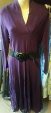 NWOT long purple knit sweater dress witchy goth hot topic emo