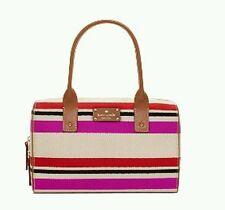 Kate Spade Kaleigh Oak Island Stripe Satchel Handbag