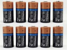 10x Duracell 3V Ultra Lithium Batterie 123 - DL123A/CR123A/CR17345