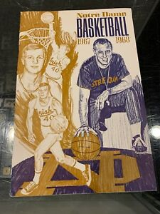 1967-68 NOTRE DAME  FIGHTING IRISH BASKETBALL PRESS MEDIA GUIDE