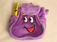 Dora the Explorer Nylon Backpack Girls Preschool Rescue Bag & Map