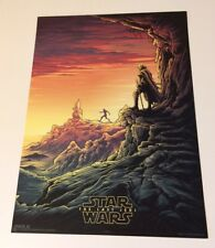 Star Wars: The Last Jedi IMAX Poster Luke Skywalker And Rey Training #1