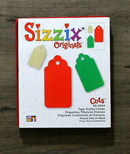 Sizzix Original Die: Tags Scallop Combo BRAND NEW Gifts, Cards, Scrapbooking