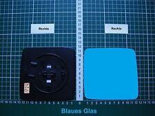 Außenspiegel Spiegelglas Ersatzglas Mercedes W124 Rechts sph Kpl beheizt Blau