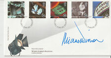 "MICHAEL WINNER - SIGNED - 1996 ""FILMS"" FIRST DAY COVER"