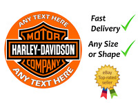 Harley Davidson cake topper edible icing or Wafer personalised