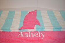 Pottery Barn Kids Classic Classic Rugby Dolphin Hood Beach Bath Towel Emb Ashley