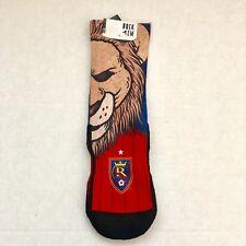 Rock 'Em Real Salt Lake Leo The Lion Socks - Red