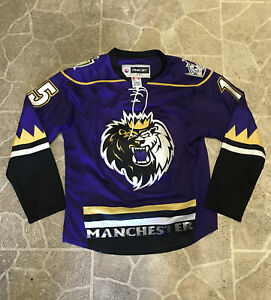 MANCHESTER MONARCHS AUTHENTIC AHL REEBOK EDGE HOCKEY JERSEY SIZE Small