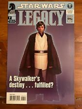 Star Wars: Legacy #7 (2007) 1ST PRINT LUKE SKYWALKER VF/NM ADAM HUGHES HOT!