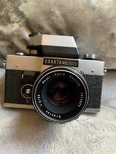 Exakta RTL1000 35mm slr with case And Meyer-optic Gorlitz Oreston Lens 1.8/50mm