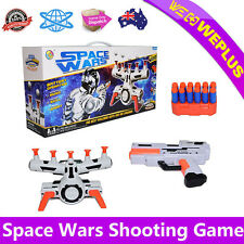 Suspended Flying Ball Target Shooting Game With Music Soft Bullets Game Toy