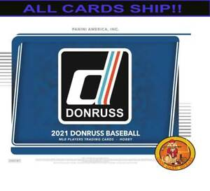NEW YORK YANKEES 2021 DONRUSS BASEBALL 1 FULL CASE (16 BOXES) CASEBREAK #1